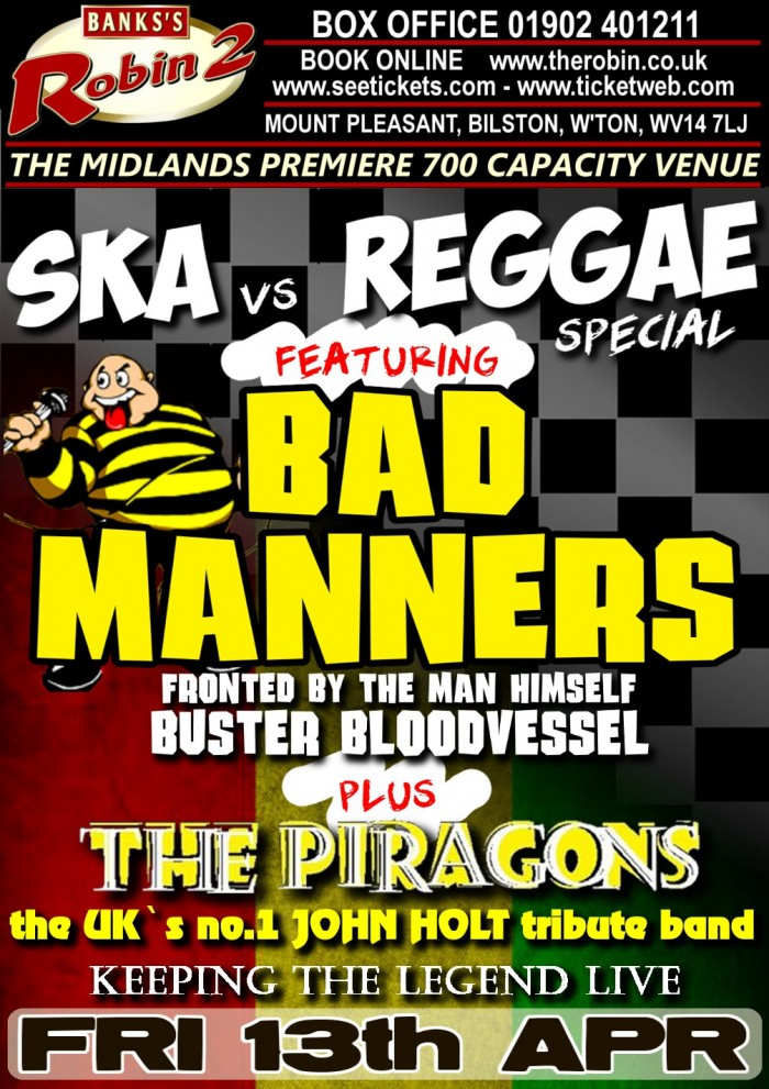 Bad Manners - The Best Of British Ska - Live and Loud