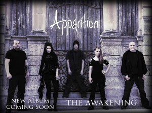 Apparition plus special guests Winter In Eden + Serpentyne + Control The Storm + Alice In Wonderland + The Loved & Lost