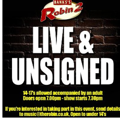 Live & Unsigned 2018