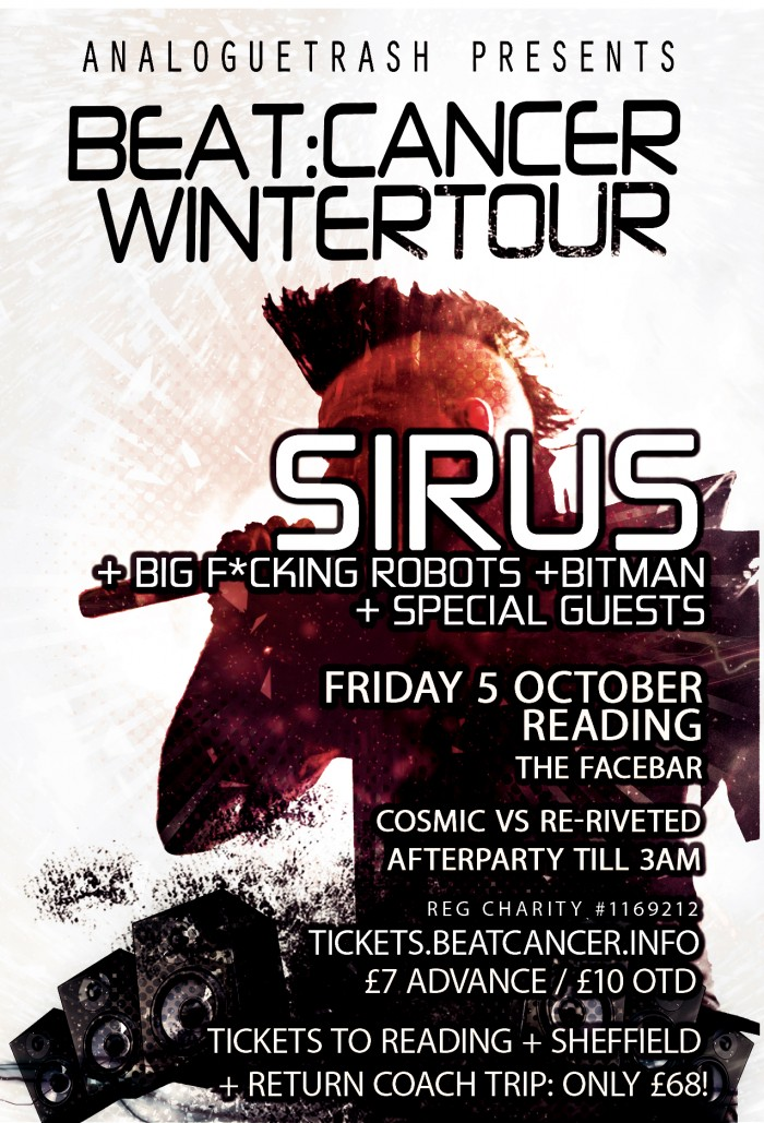 Sirus + Special Guests & Cosmic vs Re-Riveted Afterparty