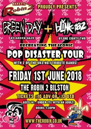 Green Day (by Green Haze) + Blink 182 (by One Eighty Two)