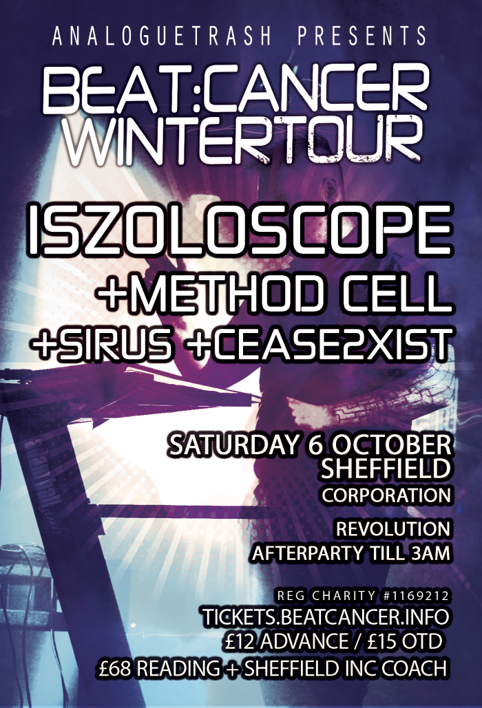 Beat:Cancer Winter Tour Feat: Iszoloscope