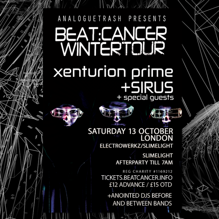 Beat:Cancer Winter Tour: LONDON