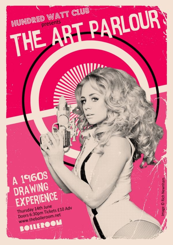The Art Parlour: A 1960s Life Drawing Experience