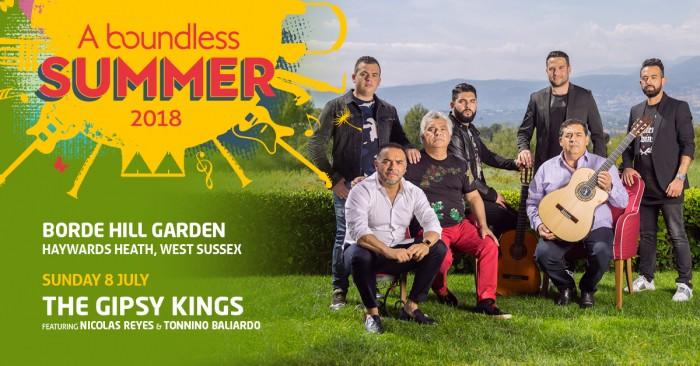 A Boundless Summer - THE GIPSY KINGS Ft. NICOLAS REYES & TONNINO BALIARDO