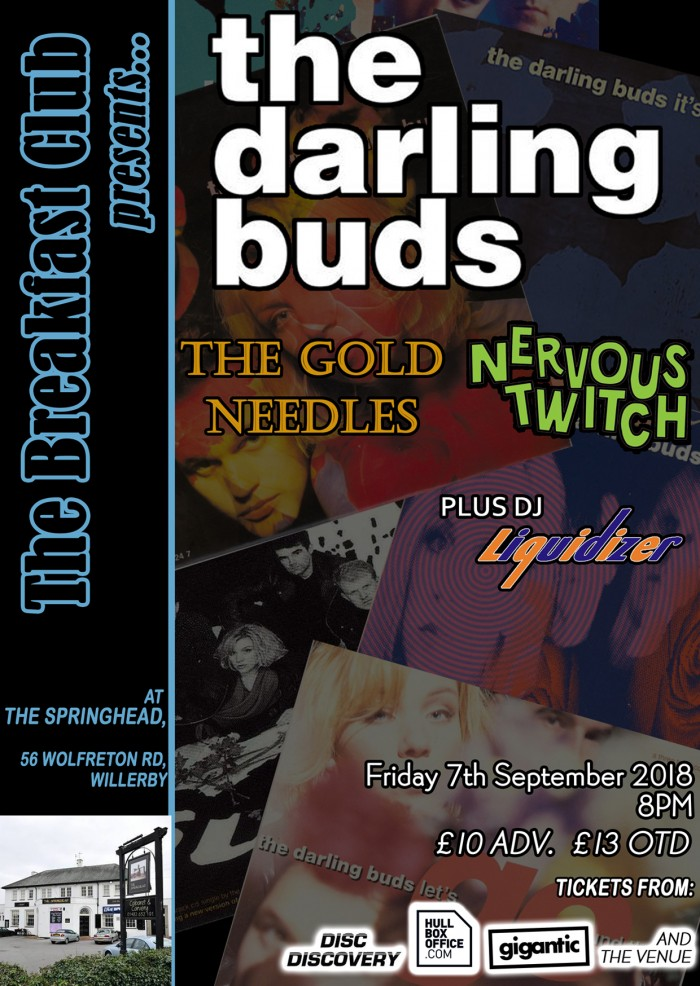 The Breakfast Club presents; The Darling Buds