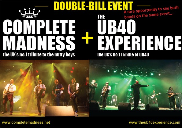 Complete Madness and UB40 Experience