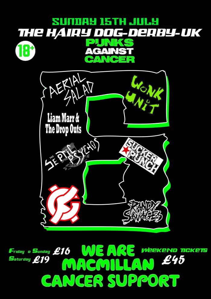 Punks Against Cancer - Sunday