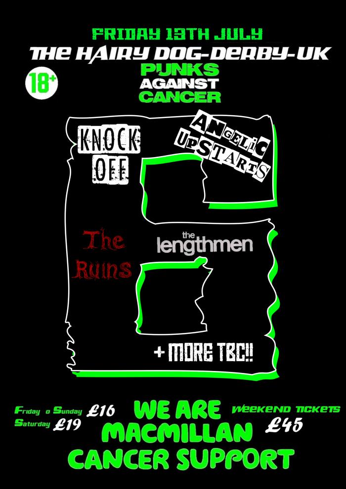 Punks Against Cancer - Friday