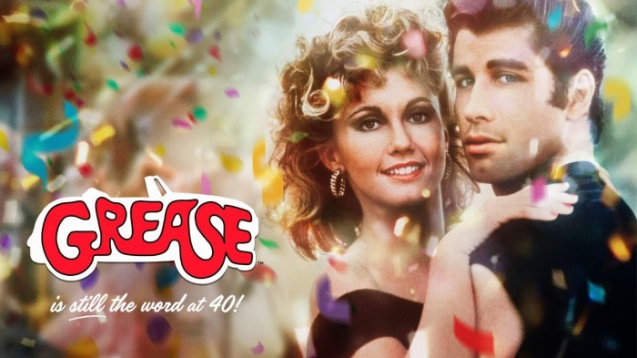 GREASE!  (40th Anniversary) - OUTDOOR CINEMA SCREENING