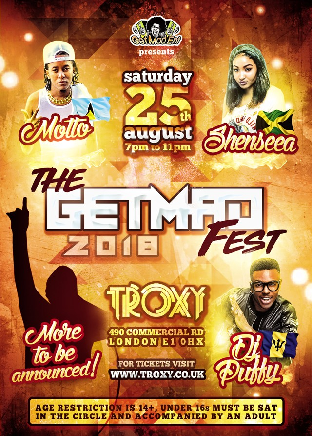 The Get Mad Fest – Notting Hill Carnival Concert