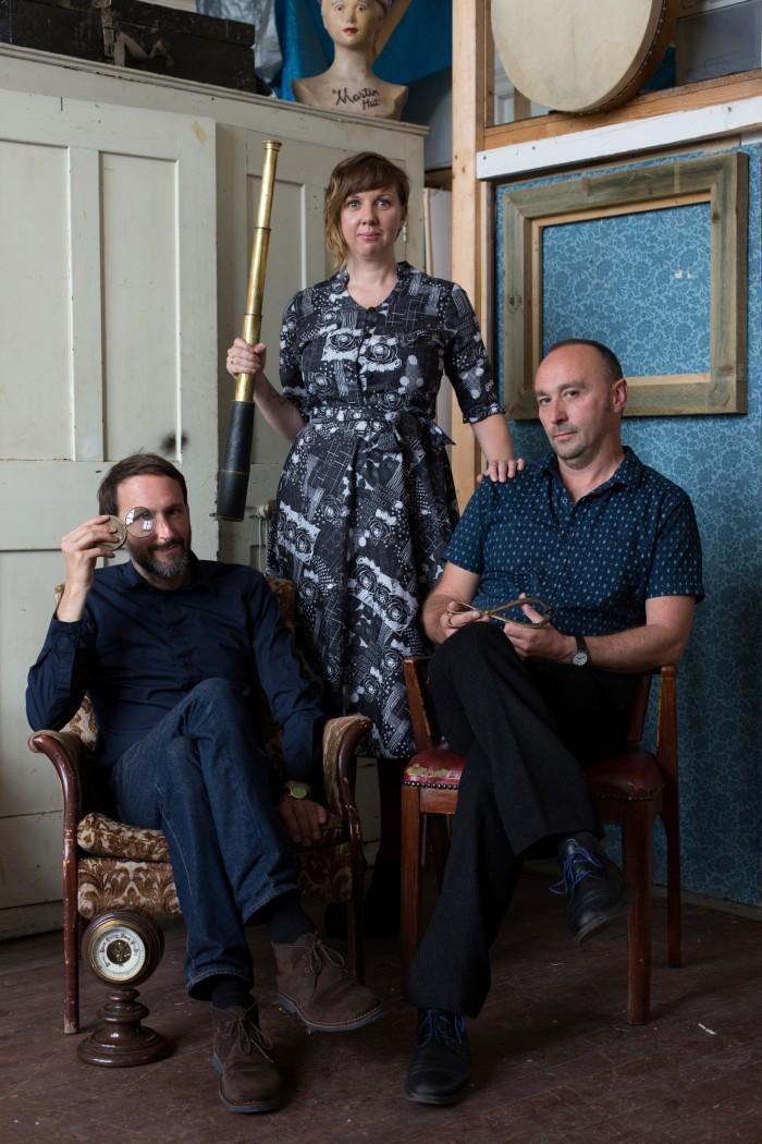 Alasdair Roberts, Amble Skuse & David McGuinness
