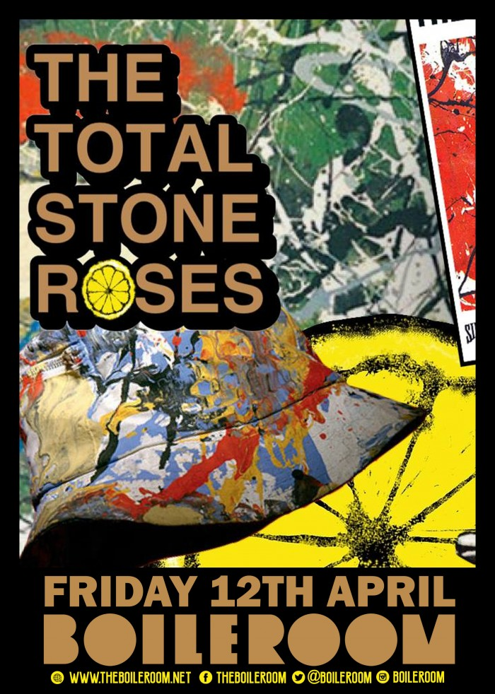 The Total Stone Roses - The Stone Roses tribute