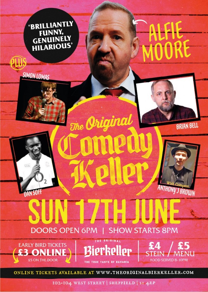 The Original Comedy Keller Hosted By Alfie Moore