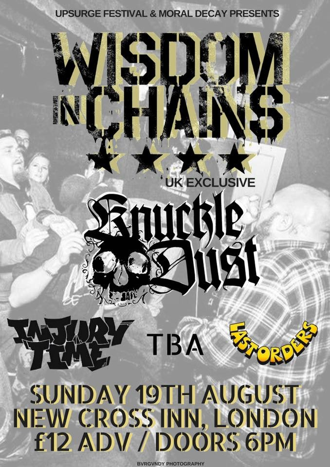 Wisdom In Chains + Knuckledust