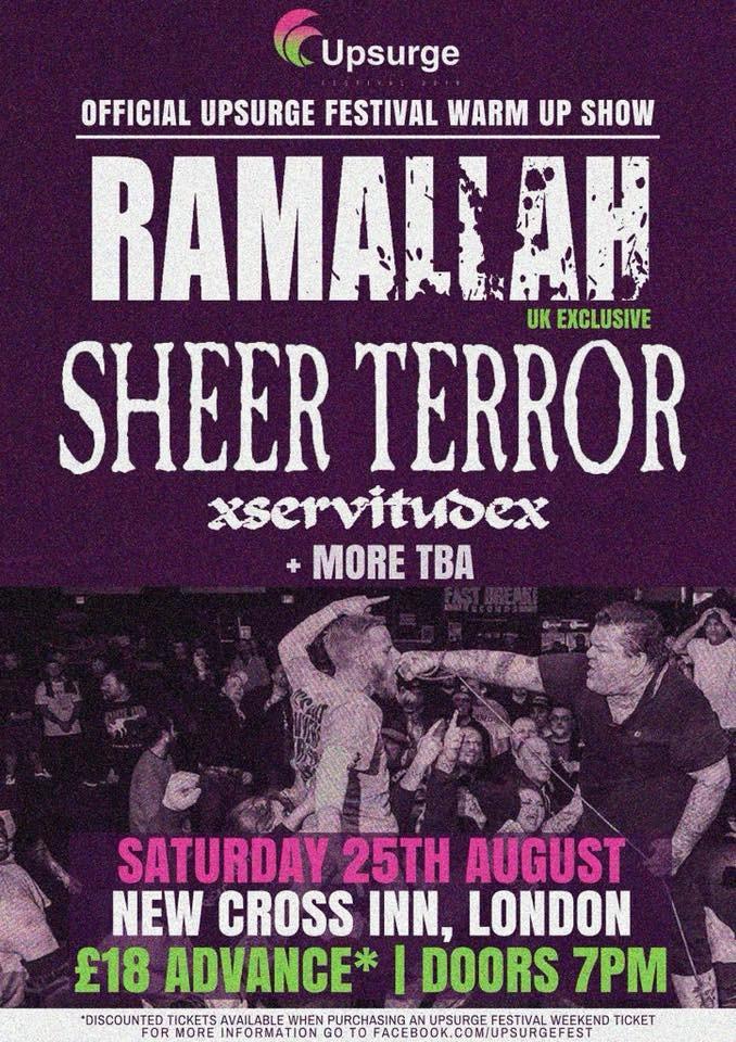 Ramallah + Sheer Terror