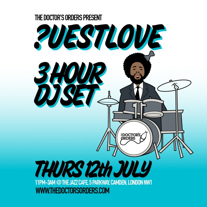 Questlove - 3 hour DJ Set