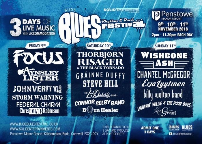 Bude Blues Festival