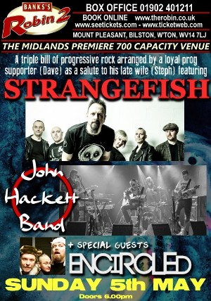 Strangefish + John Hackett Band