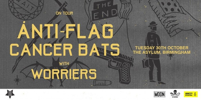 Anti-Flag & Cancer Bats