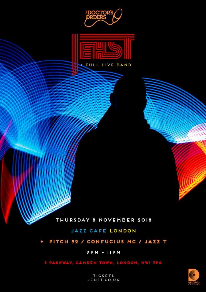 Jehst + Full Live Band