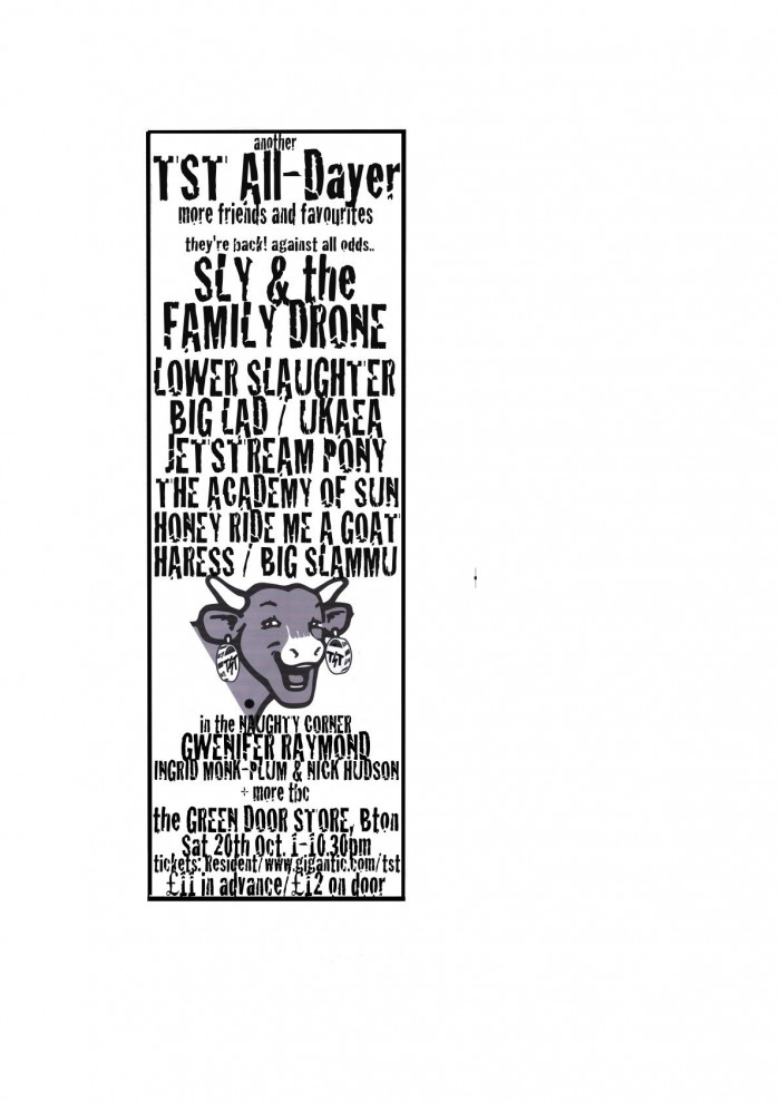 TST All-Dayer ft SLY & THE FAMILY DRONE (COMEBACK SHOW!)