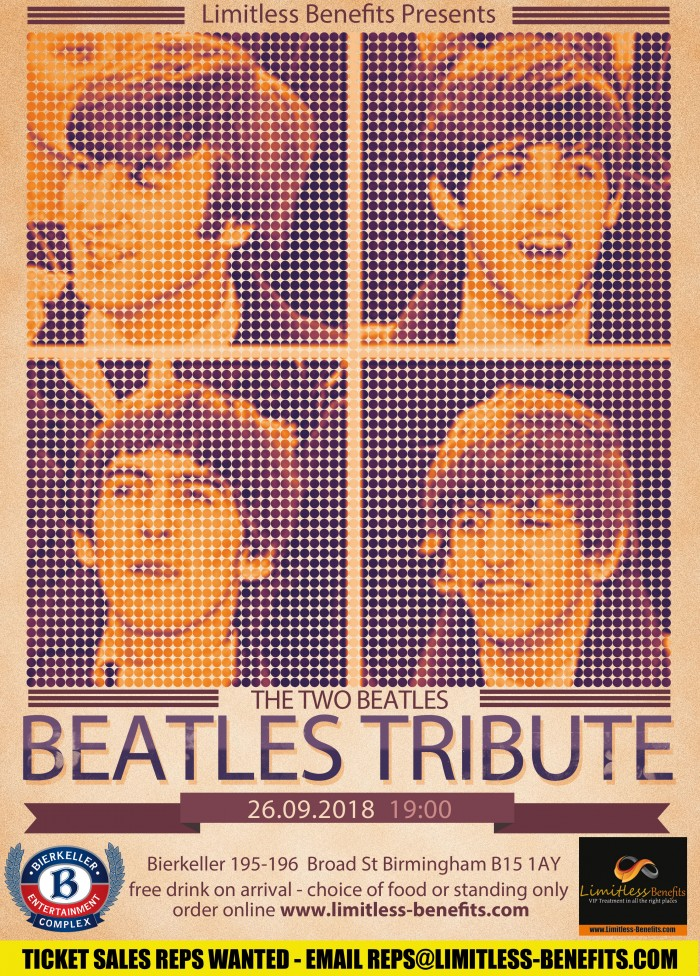 The Beatles Tribute Band - Two Beatles Birmingham