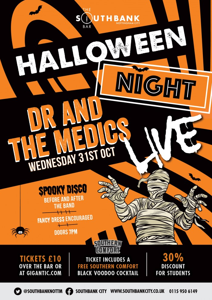 Halloween Night with Dr and the Medics