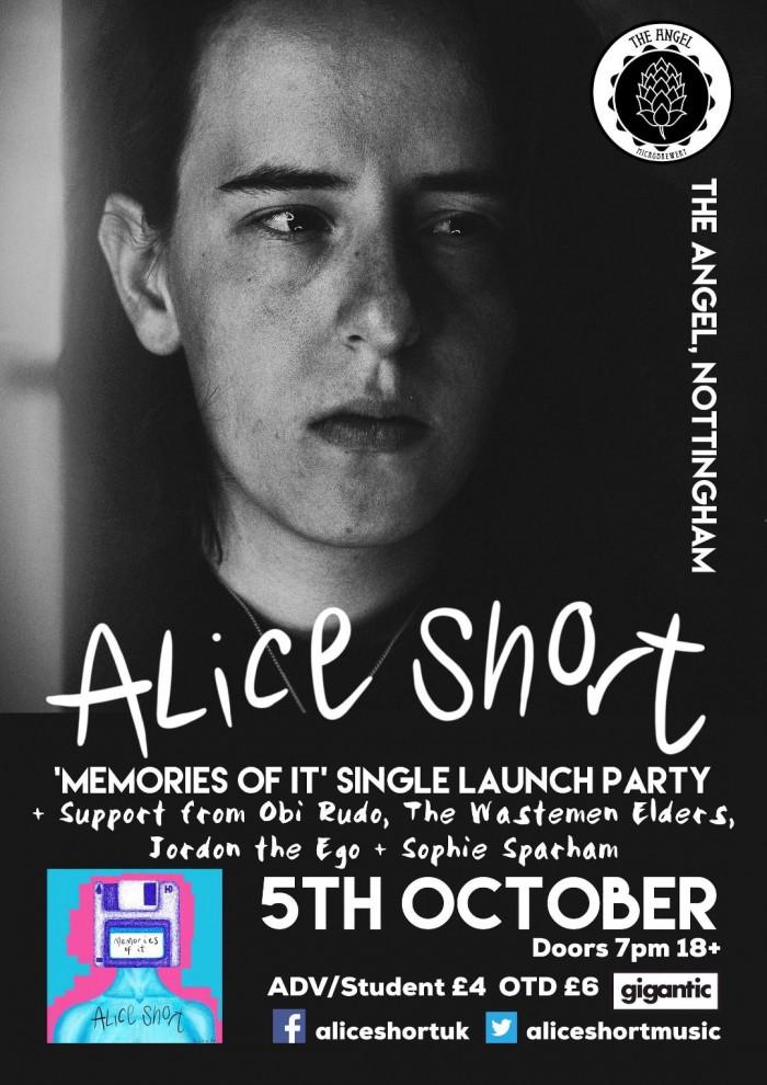 Alice Short - Memories of it - Single Launch