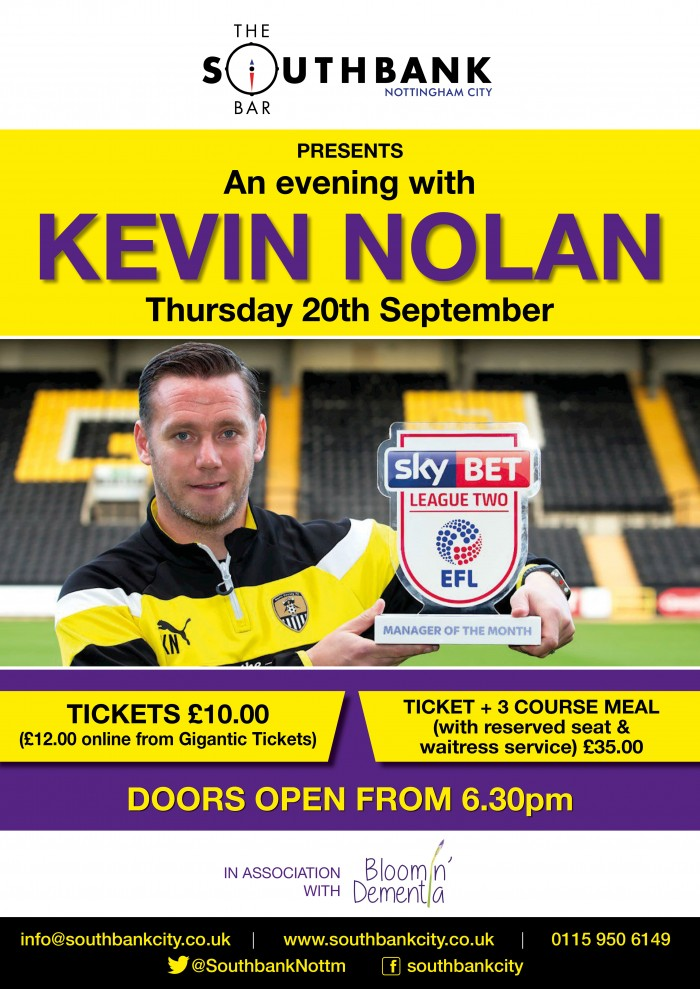 An Evening with Kevin Nolan