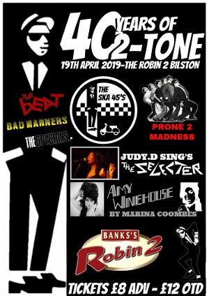 40 years of 2-Tone - The Ska45's