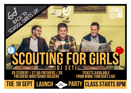 Scouting for Girls (DJ Set)