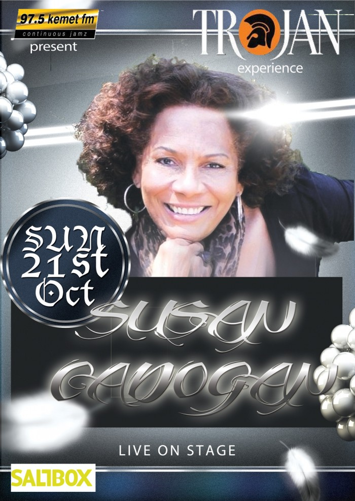 Susan Cadogan performs her Hits from the Trojan Records songbook