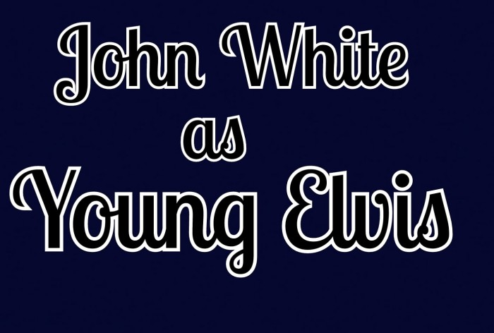 John White's tribute to the young Elvis