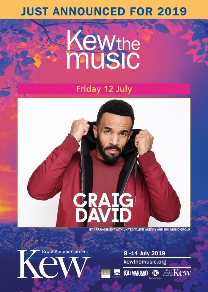 Kew The Music 2019: Craig David
