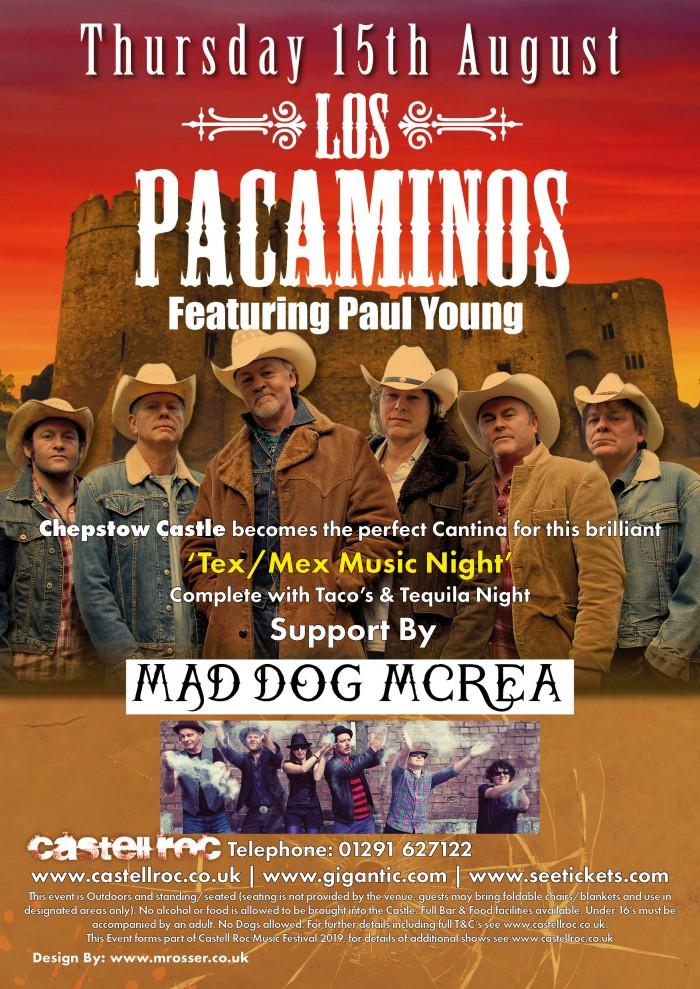 Text Mex Music Night Castell Roc