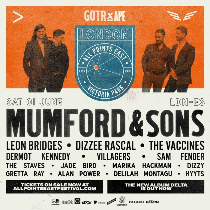 All Points East Festival: Mumford & Sons