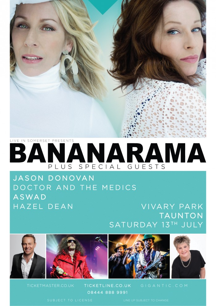 Live in Somerset 2019 - Bananarama