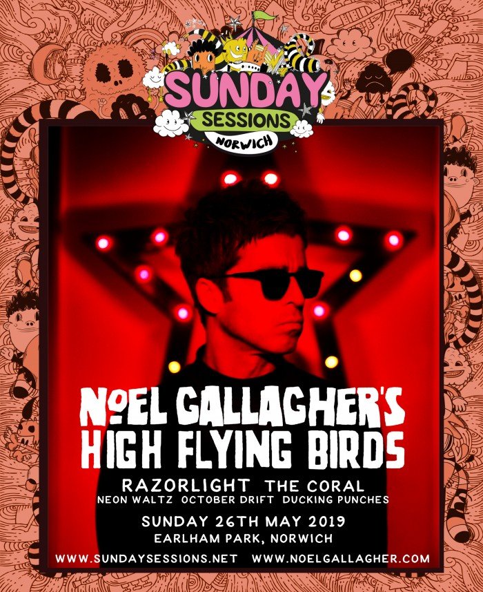 Sunday Sessions Norwich - Noel Gallagher's High Flying Birds