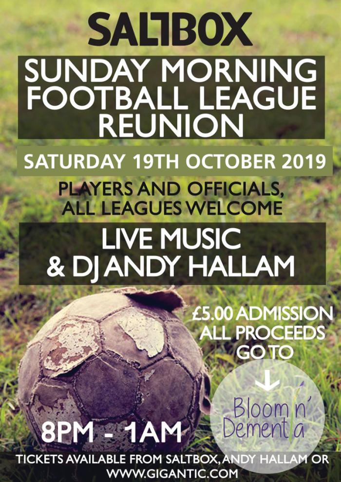 The Sunday Morning Football League Annual Reunion