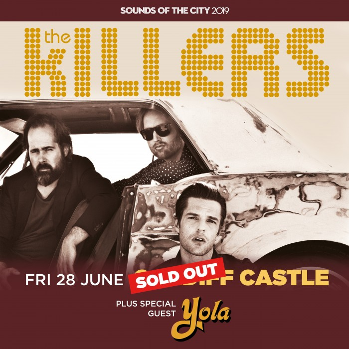 The Killers at Cardiff Castle