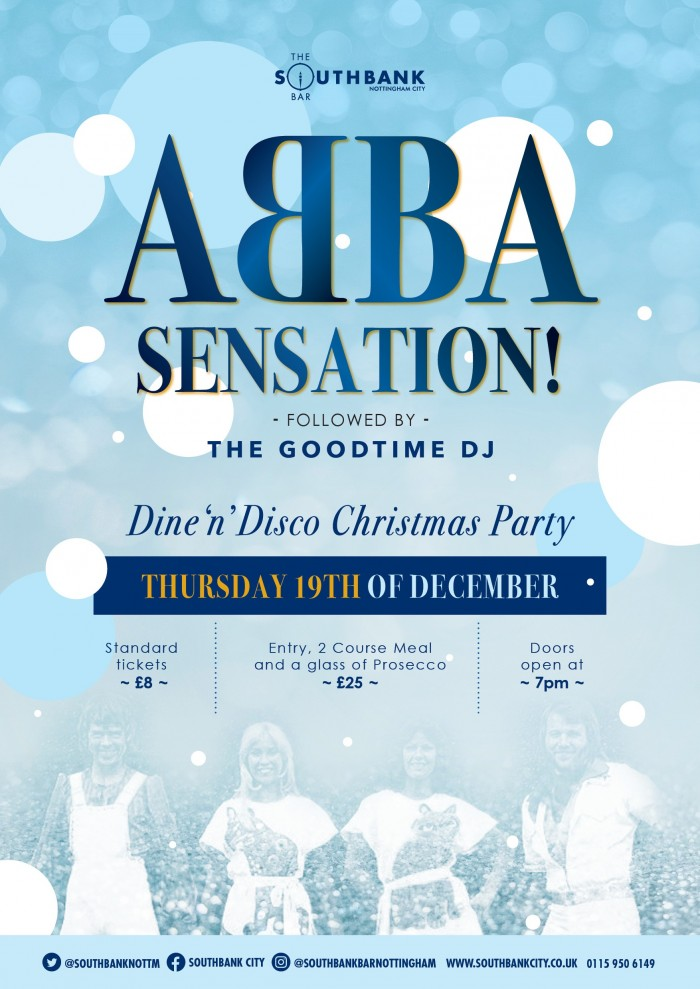 Abba Sensation: Dine & Disco Christmas Party