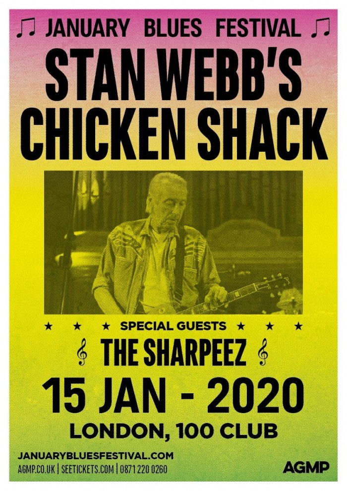 January Blues Festival: Stan Webb's Chicken Shack