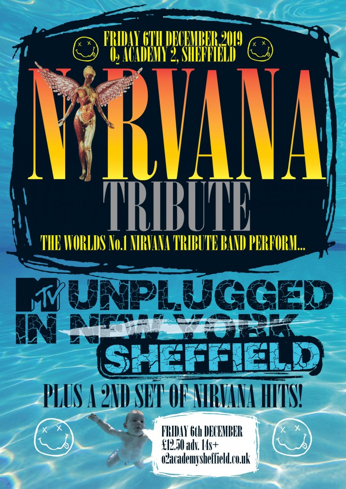 Nirvana Tribute perform MTV 'Nirvana Unlugged in New York' Plus Hits