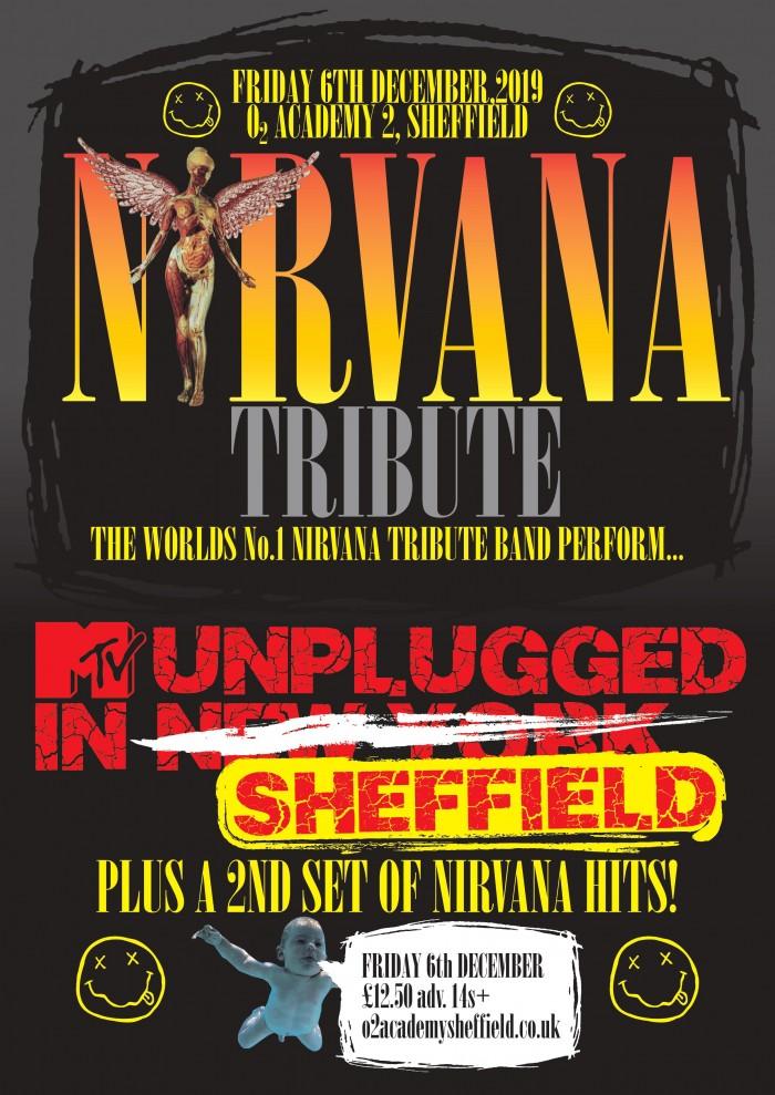 Nirvana Tribute perform MTV 'Nirvana Unplugged in New York' Plus Hits  Tickets