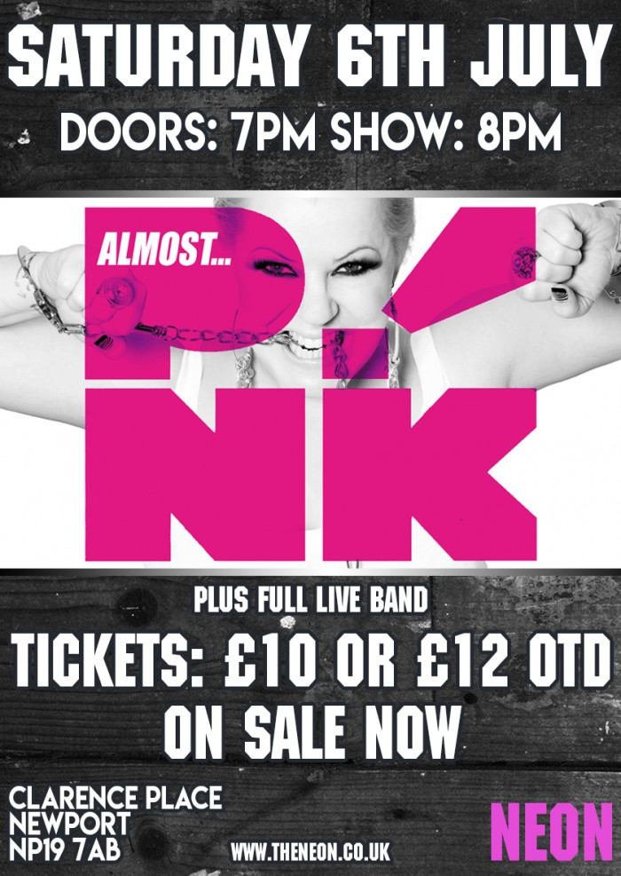 Almost P!NK + Live band