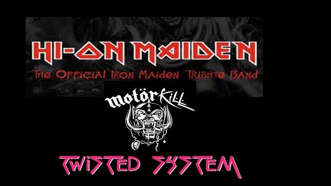 Maiden, Motorhead and Twisted Sister tributes at MFN