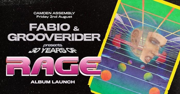 Fabio & Grooverider Presents 30 Years of Rage