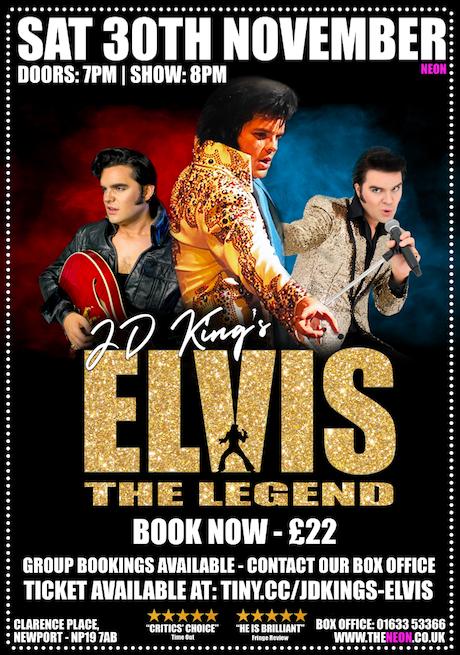 JD King's - Elvis The Legend