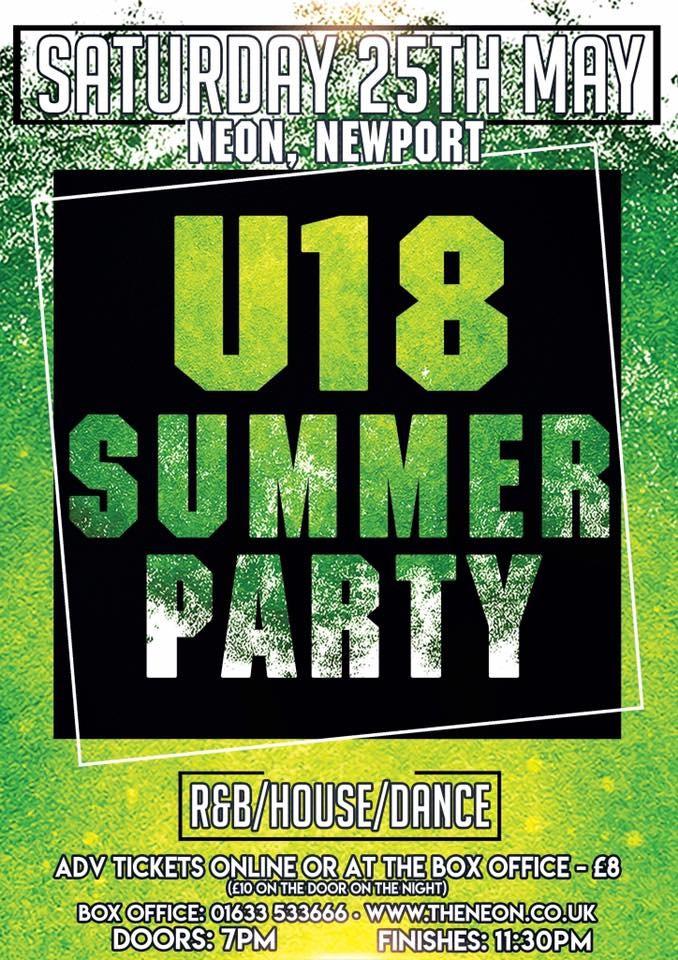 Neon U18 Summer Party
